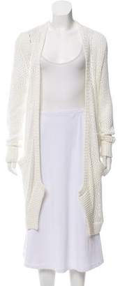 Allude Open Knit Longline Cardigan w/ Tags