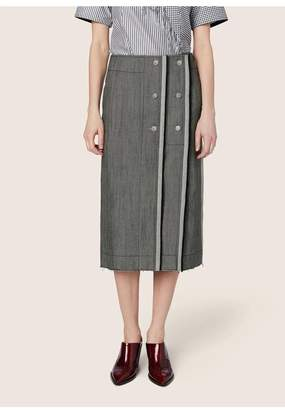 Derek Lam Wrap Pencil Skirt