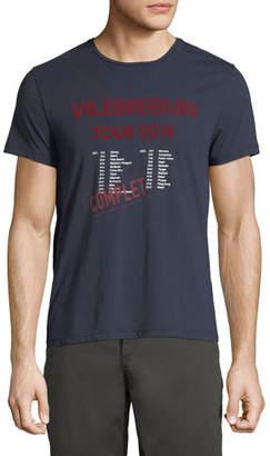 Vilebrequin Men's Band Tour Graphic Cotton T-Shirt