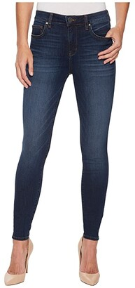 KUT from the Kloth Mia High-Waist Skinny in Goodly