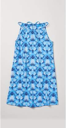 J.Mclaughlin Girls' Maria Halter Dress in Pineapple Palms
