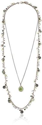 lonna & lilly Lonna and Lilly Two-In-One Multi Row Shaky Necklace of Length 71.12-91.44cm 60381751-276