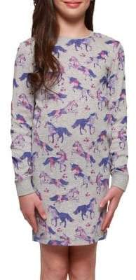 Dex Girl's Unicorn Nightgown
