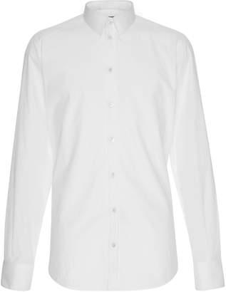 Dolce & Gabbana Slim-Fit Cotton-Poplin Tuxedo Shirt