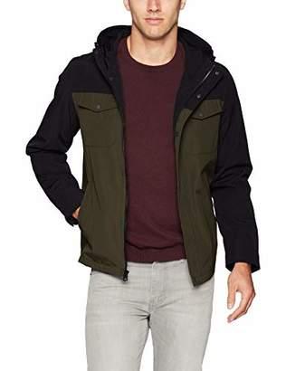 Levi's Men's Arctic Cloth Hooded Rain Slicker Jacket