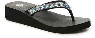 Yellow Box Agneese Wedge Flip Flop - Women's