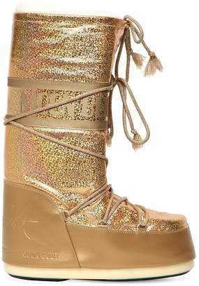 Glittered Snow Boots