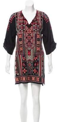 Tolani Embroidered Mini Dress