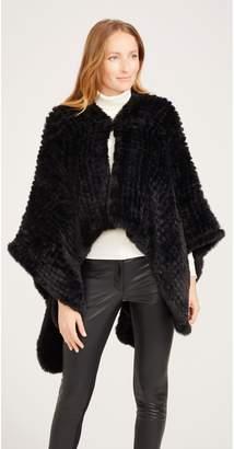 J.Mclaughlin Karen Faux Fur Wrap