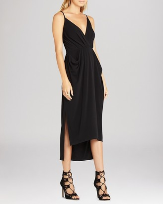 BCBGeneration Faux Wrap Midi Dress $78 thestylecure.com