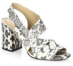 Michael Kors Collection Asher Open Toe Sandals
