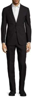 Armani Collezioni Classic Fit Tonal Striped Wool Suit