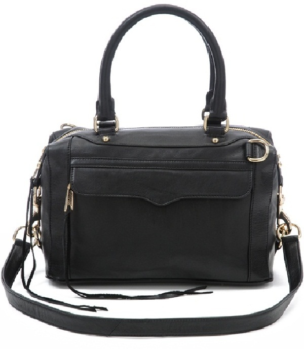 Rebecca Minkoff Black Morning After Bag