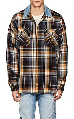 Fear Of God Men's Oversized Plaid Wool Shirt