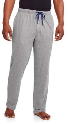 Hanes Men's Big X-Temp Solid Knit Sleep Pant with Logo Inside Elastic