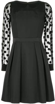 GUILD PRIME polka dot detail dress