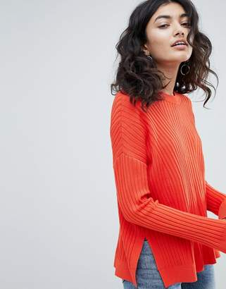 Weekday Ribbed Knit Jumper