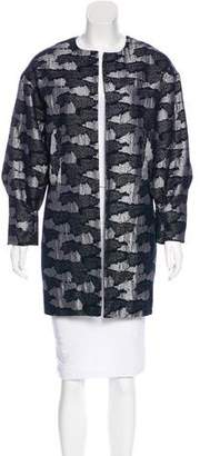 Michael Van Der Ham Patterned Jacquard Jacket