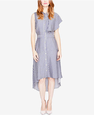 Rachel Roy Striped One-Sleeve Shirtdress, Created for Macy's
