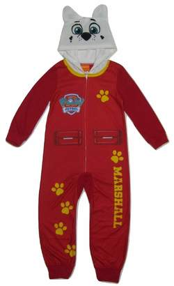 Nickelodeon Paw Patrol Marshall Onesie Blanket Sleeper Pajamas for boys