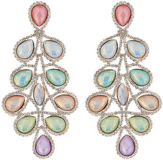 Natasha Accessories Limited Frosted Drop Earrings