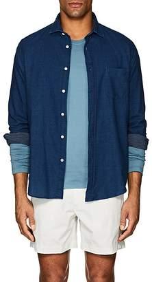 Hartford Men's Dotted Cotton Shirt