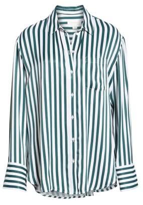 Treasure & Bond Striped Boyfriend Shirt