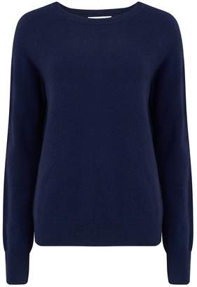Equipment Sloane crew Neck Sweater in Peacoat