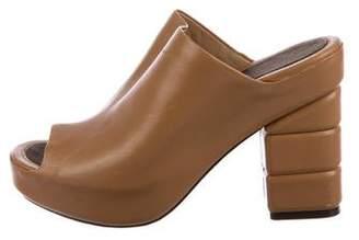 Salvatore Ferragamo Platform Slide Sandals