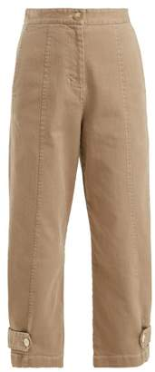 Masscob Hannah Cropped Trousers - Womens - Camel