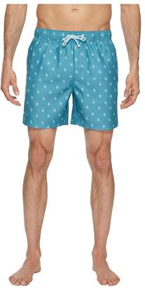 Original Penguin Print Swim Trunk Men's Swimwear