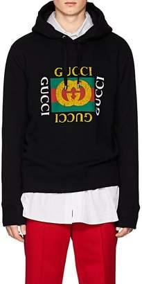 Gucci Men's Logo Cotton Hoodie