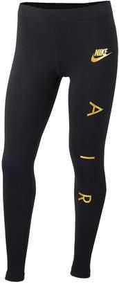 Nike Sportswear Girls Favorites Leggings - Black/Gold