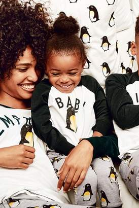 Next Boys Monochrome Younger Kids Baby Penguin Pyjamas (9mths-8yrs)