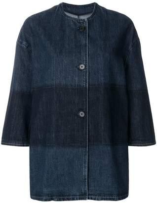 Marni single breasted denim jacket
