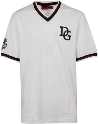 Dolce & Gabbana Patch Baseball T-shirt