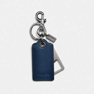 Coach Bottle Opener Key Ring