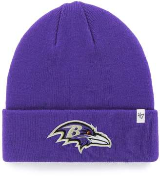 '47 NFL Baltimore Ravens Raised-Cuff Beanie