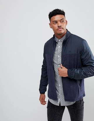 Original Penguin Towelling Jacket In Navy