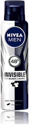 Nivea Invisible Black and White Power Deodorant by 150ml Spray)