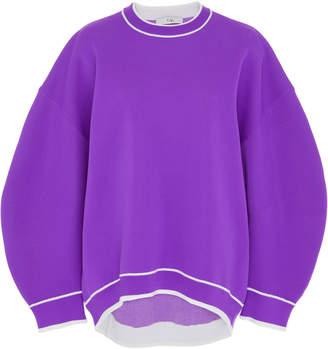 Heat Embossed Graphic Sweater