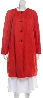 Dries Van Noten Knee-Length Wool Coat