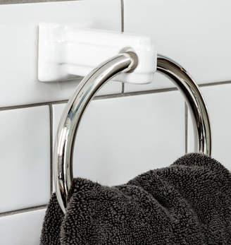Rejuvenation Chandler Streamline Porcelain Towel Ring