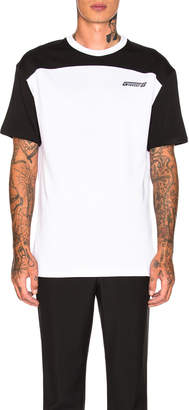 Givenchy Colorblock Tee in Black & White | FWRD