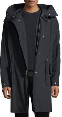 Vince Men's Hooded Parka Coat with Detachable Lining