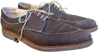 Paraboot Brown Leather Lace ups