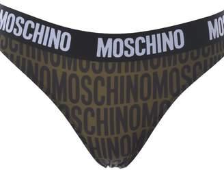 Moschino Logo Print Briefs