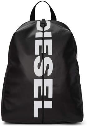 Diesel Black F-Bold Backpack