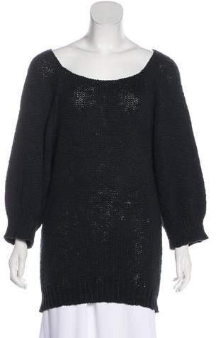 Balenciaga Knit Scoop Neck Sweater