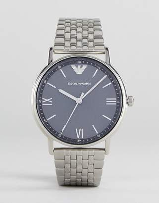 Emporio Armani Ar11068 Bracelet Watch In Silver